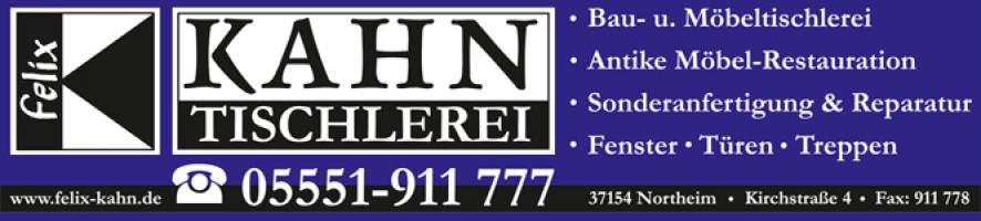 logo der firma tischlerei kahn
