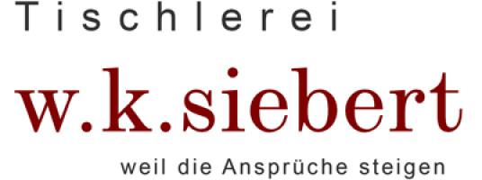 Logo der Firma Tischlerei Siebert